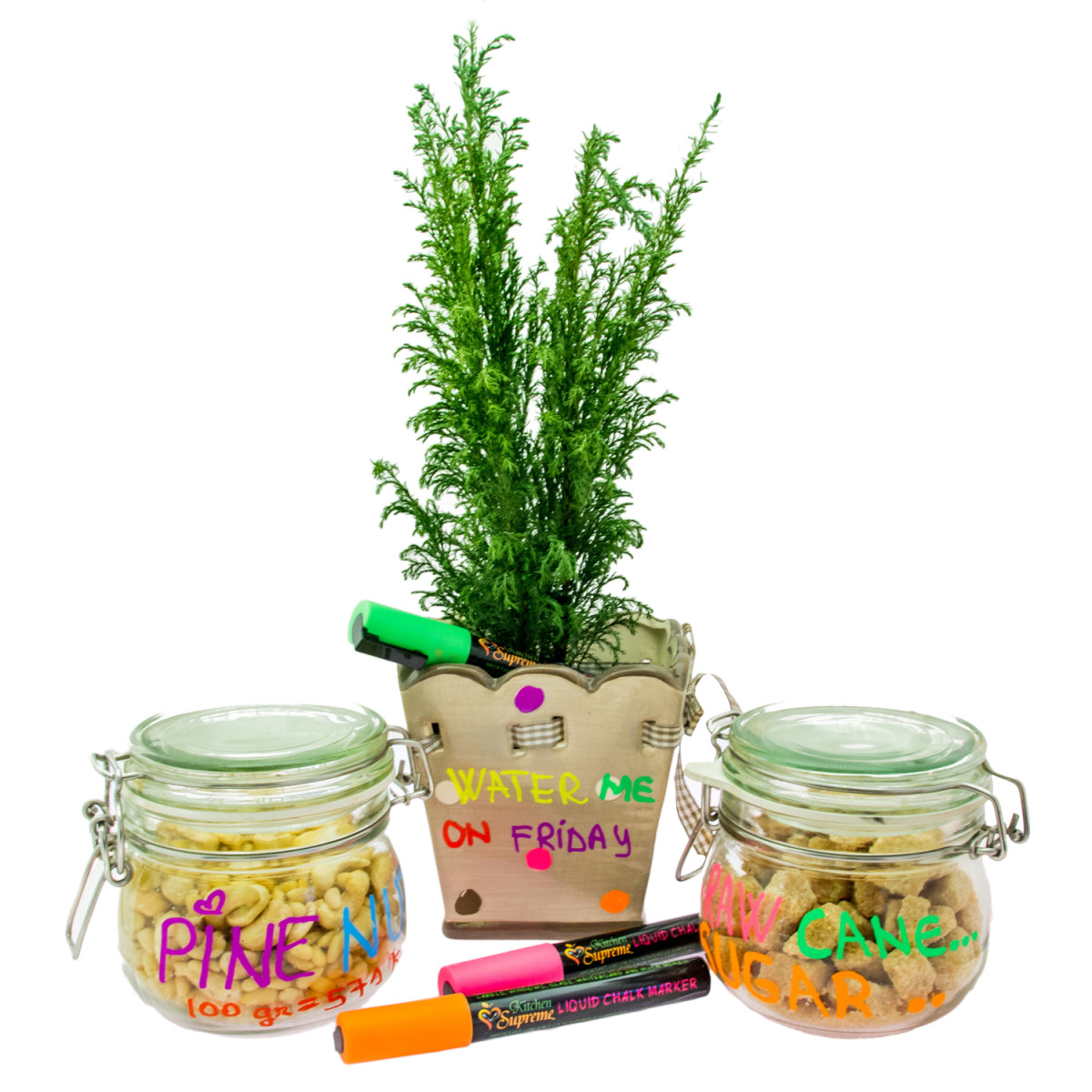 Decorate Your Garden With Neon Liquid Chalk Markers