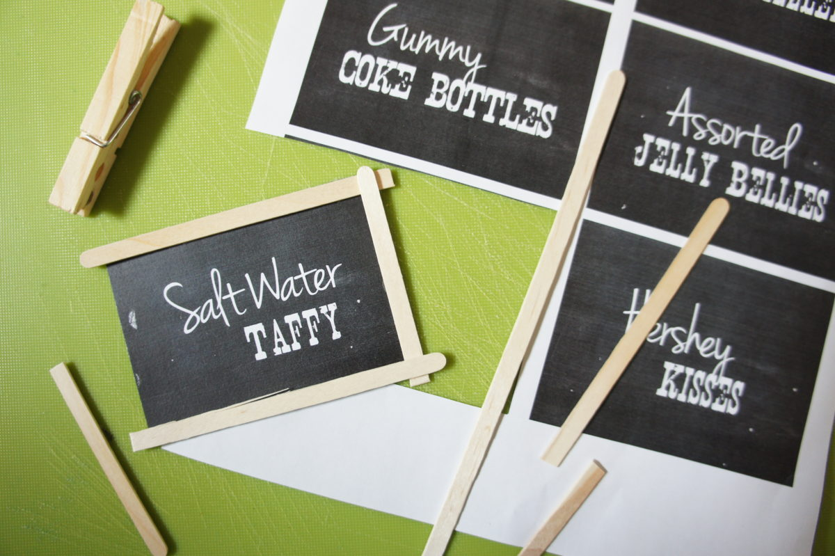 Creative exercise: how would you use Chalkboard labels around the house?